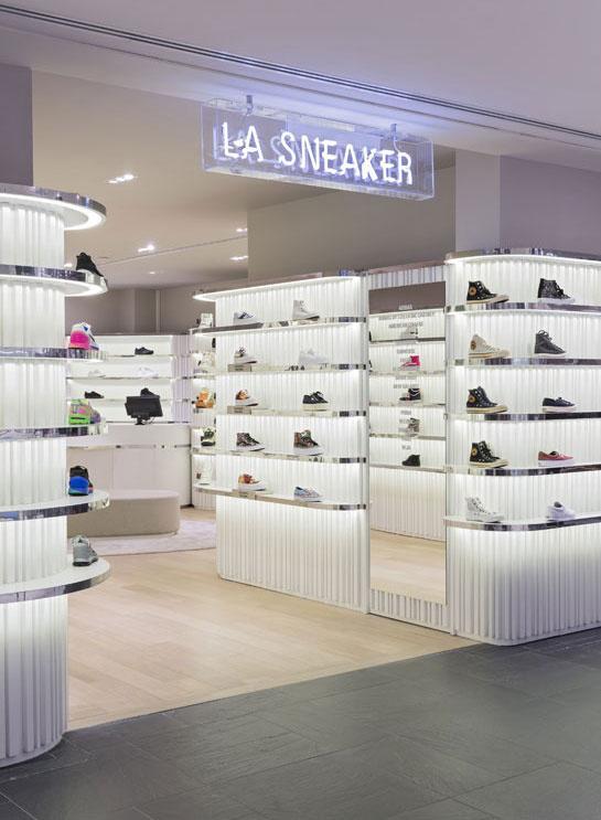 La Sneaker Library du Printemps Haussmann