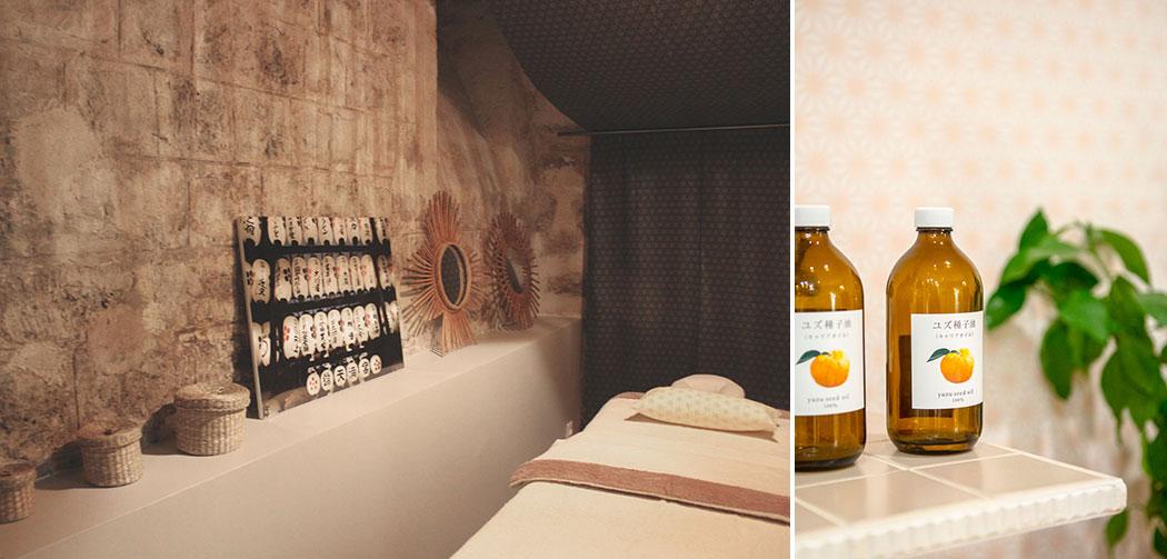 Cabine-de-massages-Yuzuka-et-huile-de-yuzu