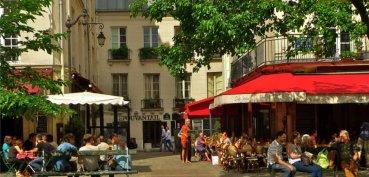 Quartier du Marais à Paris