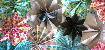 Atelier diy Etoiles en papier