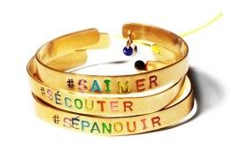 Bracelets Hashtags Mimilamour Paris