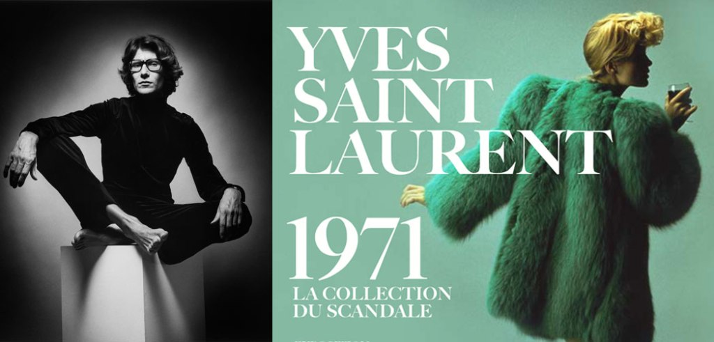 Saint-Laurent-Exposition-La-Collection-du-Scandale-1971