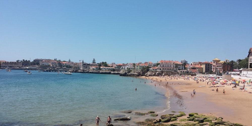 Plage-Cascaeis-Lisbonne