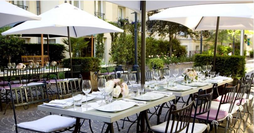 les jardins du marais terrasse spa paris