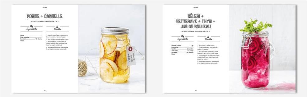 idées recettes eaux aromatisées fruits eau detox