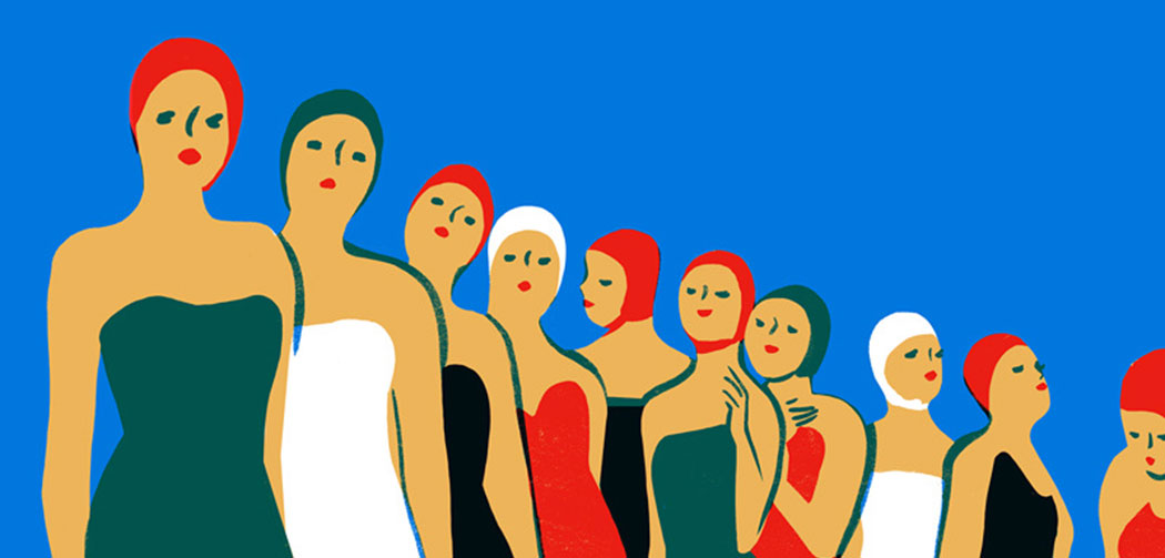 Piscine-Virginie-Morgand-illustratrice-Slow-Galerie-Paris