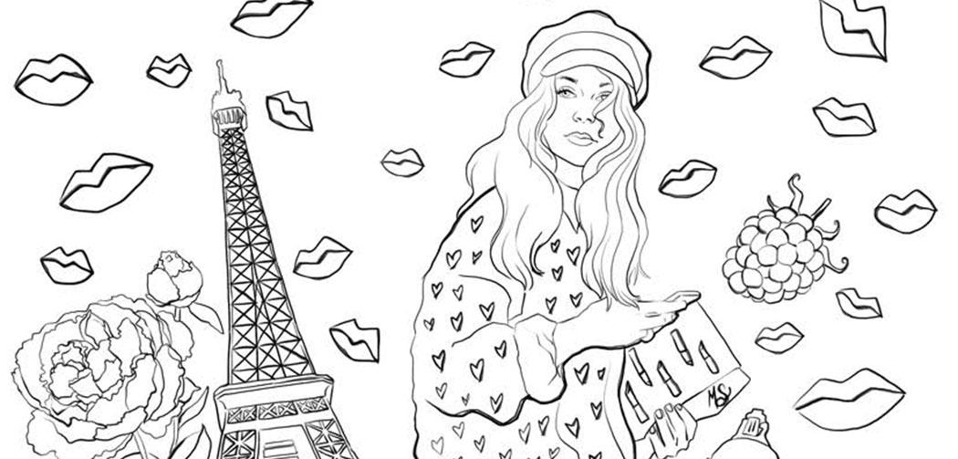 Les coloriages de luxe pour adultes de Mademoiselle Stef