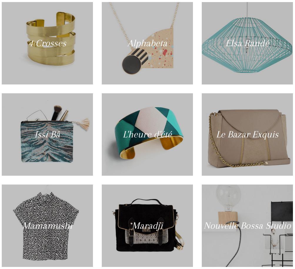 bijoux mode déco paris créateurs shop la seinographe