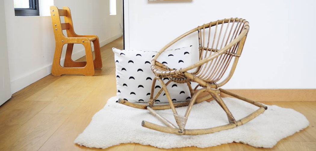 les-happy-vintage-brocante-objets-déco-design-chaise-rotin-enfants-kids