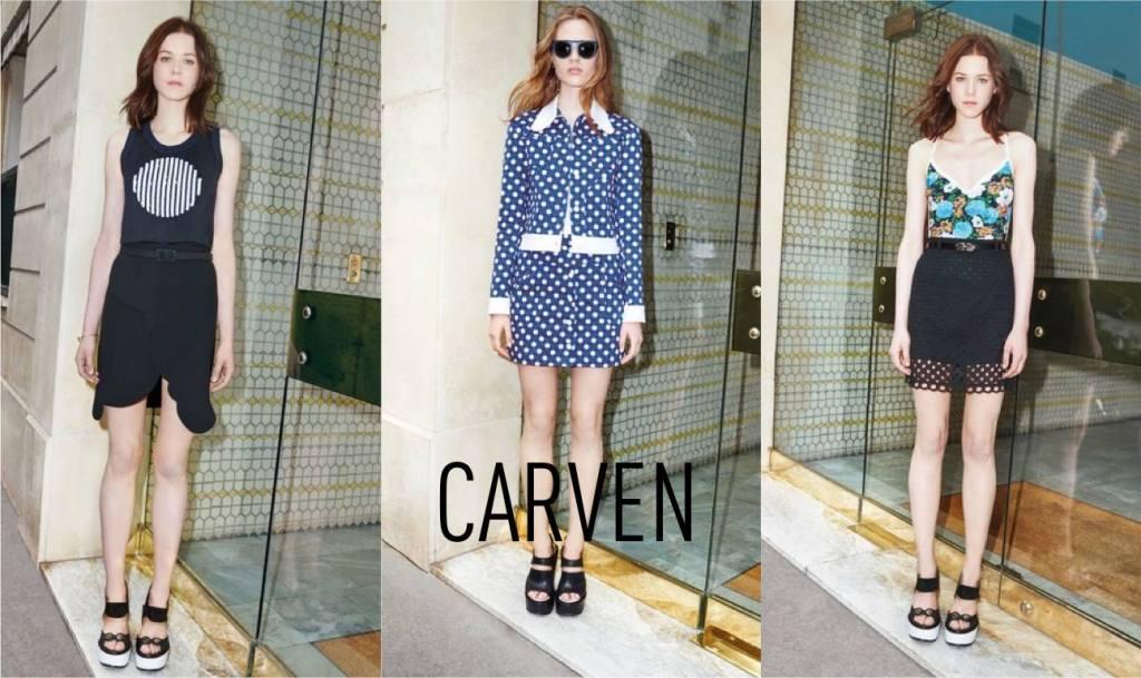 nouvelle collection carven designer room l'habibliotheque paris le marais