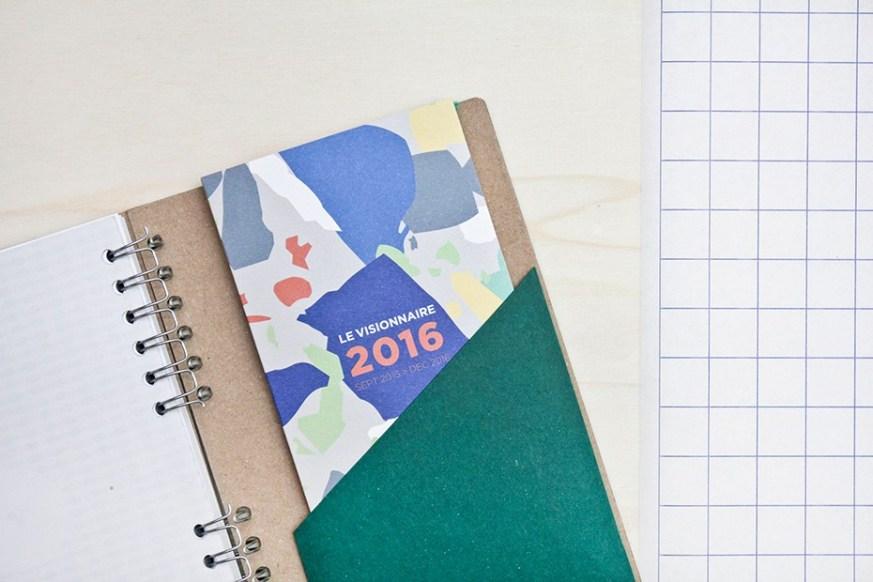 le-visionnaire agenda 2016 papier tigre