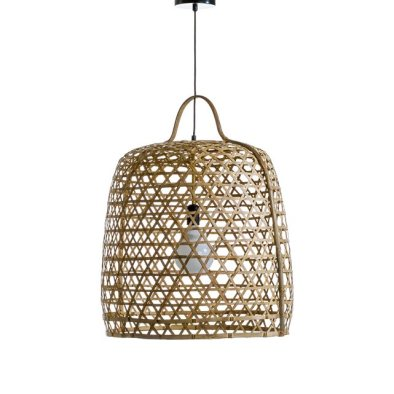 suspension rotin cage poule bresil deco am pm