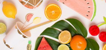 shopping-pic-nique-serviettes-papier-pasteque-set-fruits-exotiques