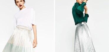 jupes-plissees-lamees-cuir-metallise-tendance-mode