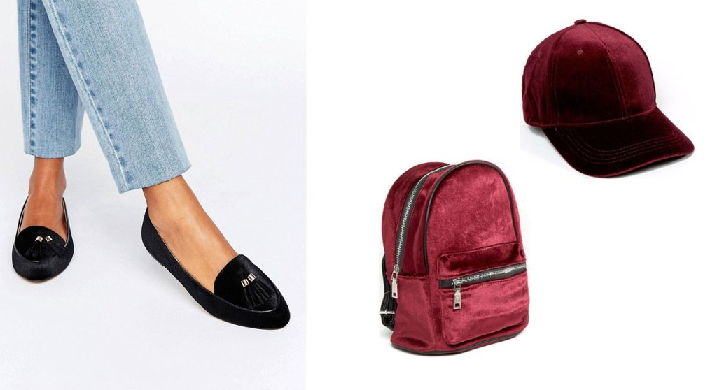 slippers-casquette-sac-a-dos-velours-asos