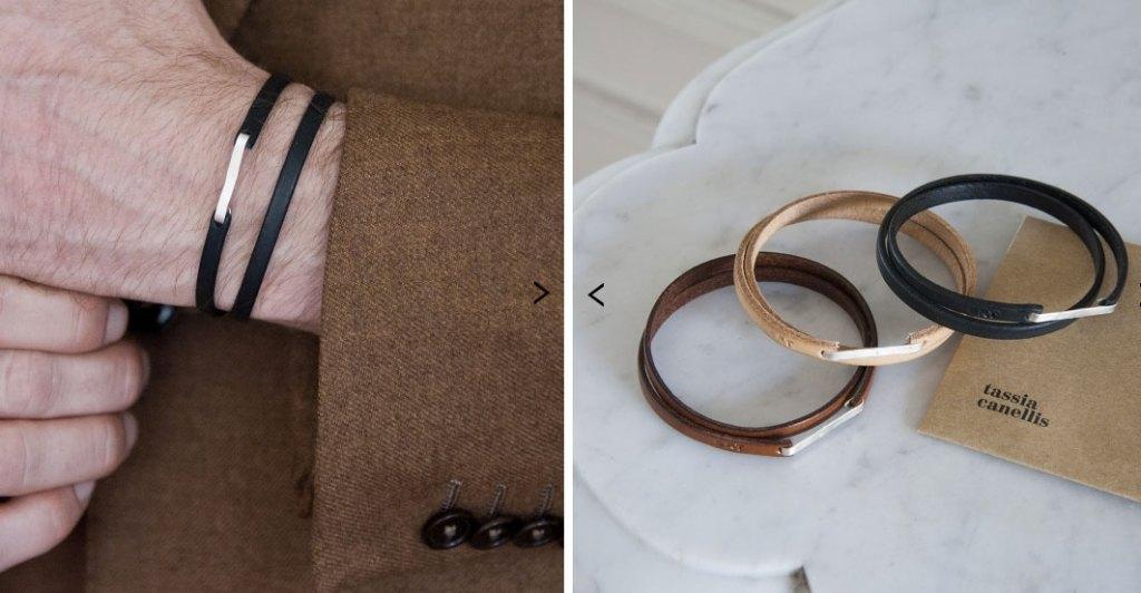 idees-cadeaux-hommes-bracelet-cuir-tassia-canellis