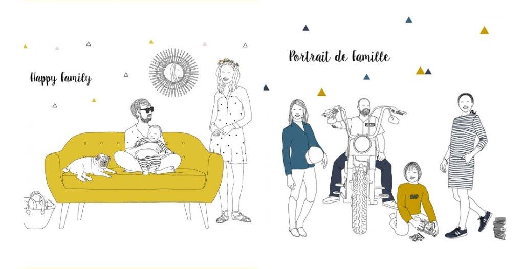 idee-cadau-naissance-personnalises-portrait-de-famille