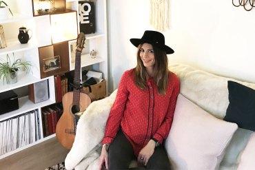 Cécile Biais, créatrice de sacs rock et funky