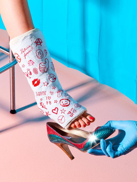 Patricia Blanchet escarpins low boots paillettes_4