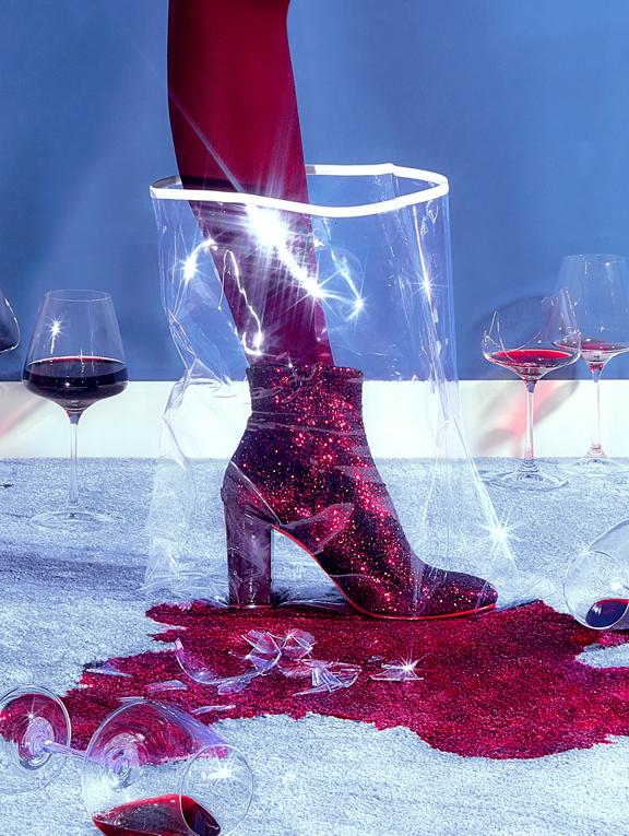 Patricia Blanchet escarpins low boots paillettes_8