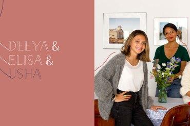 Usha, Deeya & Elisa : art, musique, amour & tolérance