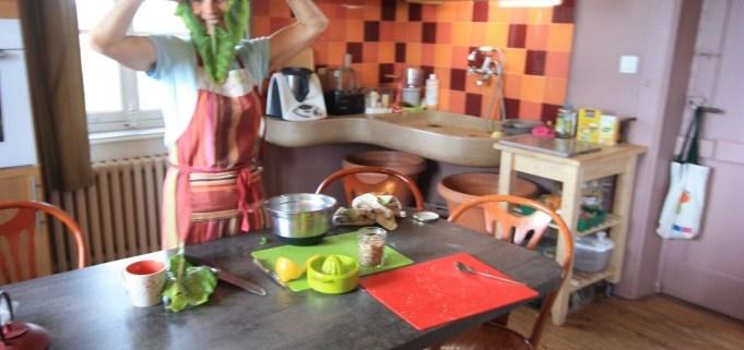 atelier de cuisine végétarienne