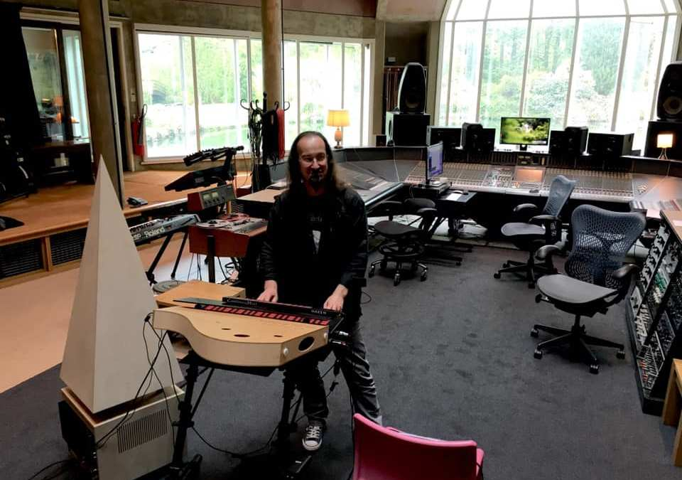 Onde and Pyramide at Peter Gabriel's Real World Studio