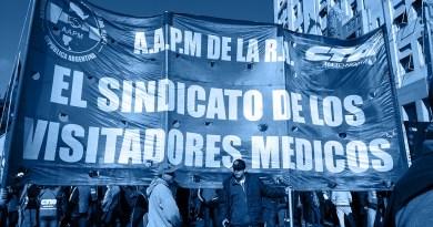 Visitadores médicos en lucha por despidos en laboratorios