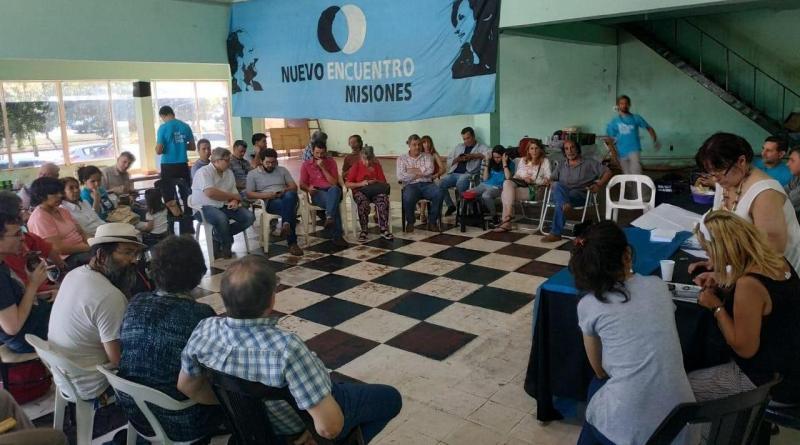 Nuevo Encuentro Misiones milita la boleta completa del Frente de Todos