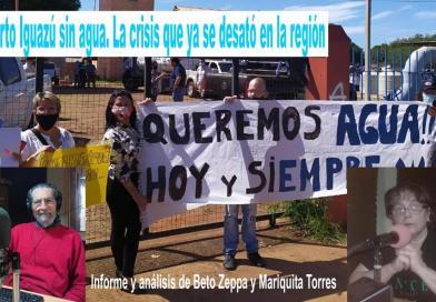 Puerto Iguazú sin agua. Falta de infraestructura y la crisis que ya se desató en la región