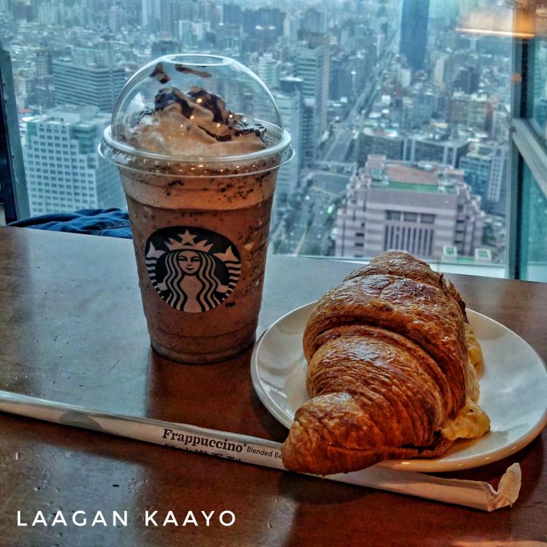 Chillin at Highest Starbucks in the World