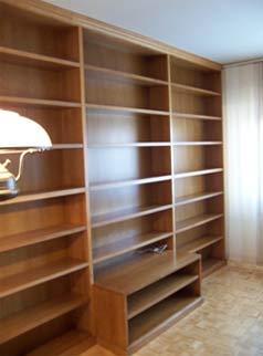 Catalogo Bibliotecas muebles de salon  La Alacena Segoviana