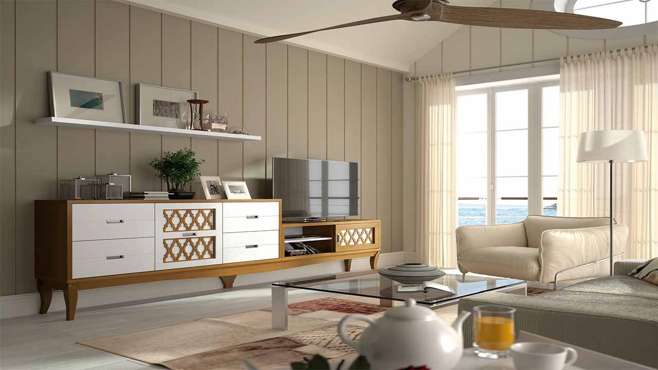 Sal n colonial muebles y decoraci n la alcoba - Decoracion salon colonial ...