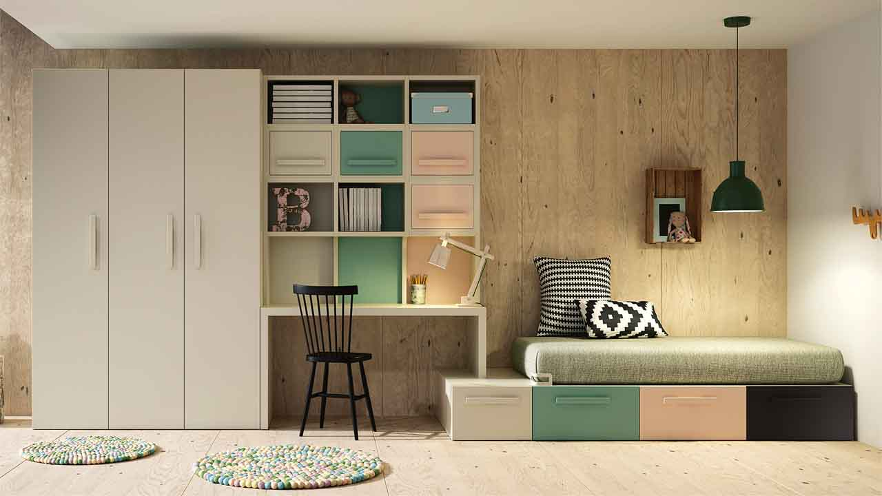 Habitaci N Juvenil Muebles Y Decoraci N La Alcoba # Muebles Laalcoba