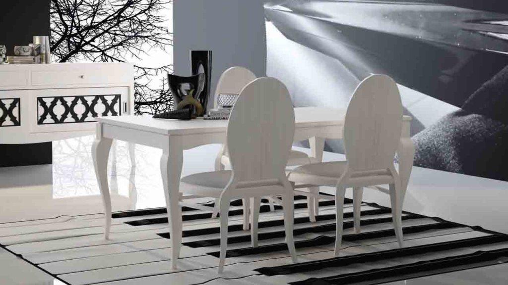 mesa comedor colonial