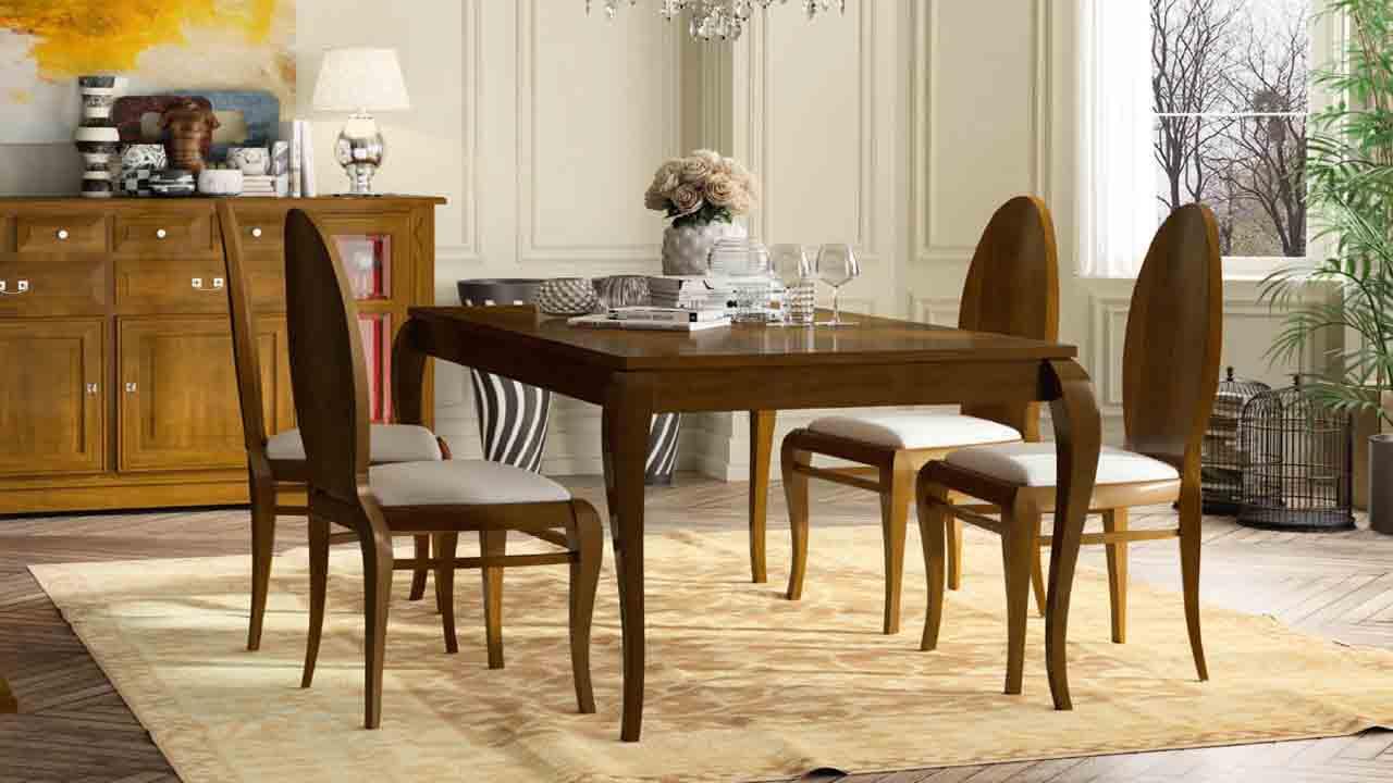 mesa comedor clasico