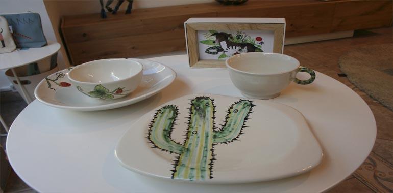 Vajilla Juanna Ceramica Made In Muel Muebles Y