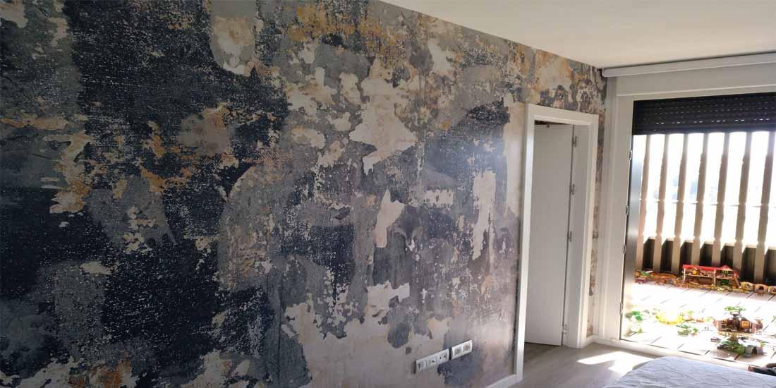 Mural pared Dormitorio