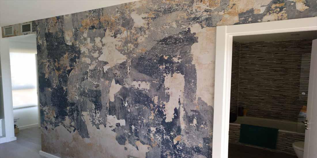 Mural pared Dormitorio 2