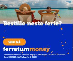 Bestille neste ferie? Ferratum Mobile Bank