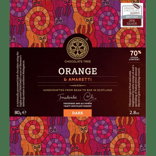 Chocolate Tree Madagascar Ambanja orange & amaretti 70%