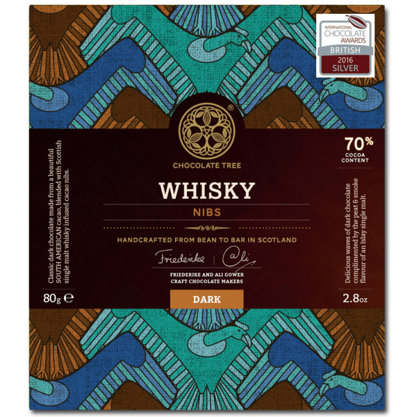 Chocolate Tree whisky nibs 69%