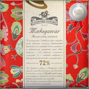 Rózsavölgyi Csokoládé Madagascar Trinitario 72% tumma suklaa