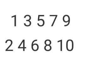 Bilangan Ganjil dan Genap