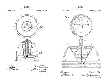 Tesla's Fluid Dynamics