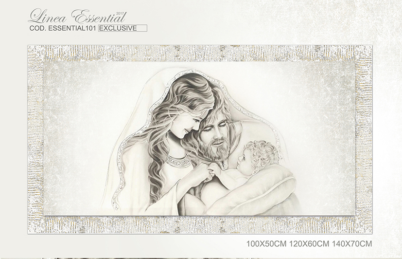 Essential101 sacrafamiglia quadro moderno arredare for Sacra famiglia quadri moderni