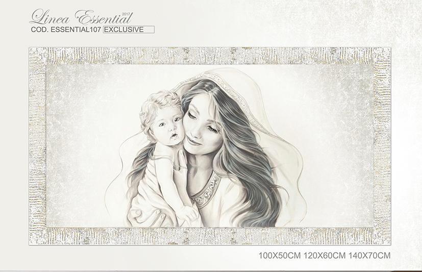 Cod. Essential107 Capezzale moderno Madonna con bambino Maternità ...