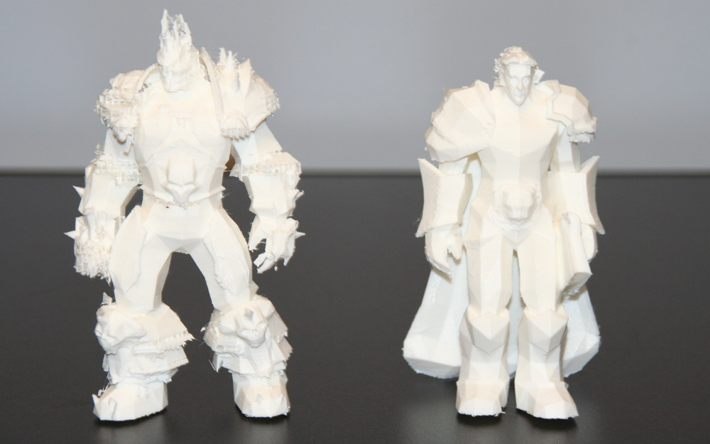 3D Print World Of Warcraft Characters On MakerBot Lab548