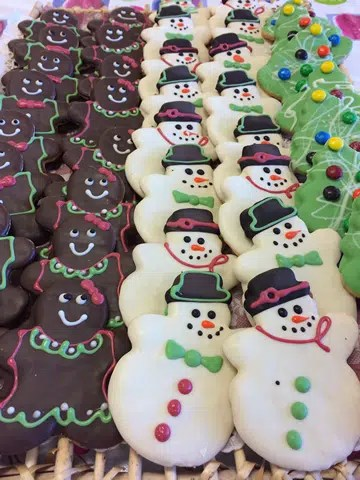 Large Christmas Cookies (Dozens)