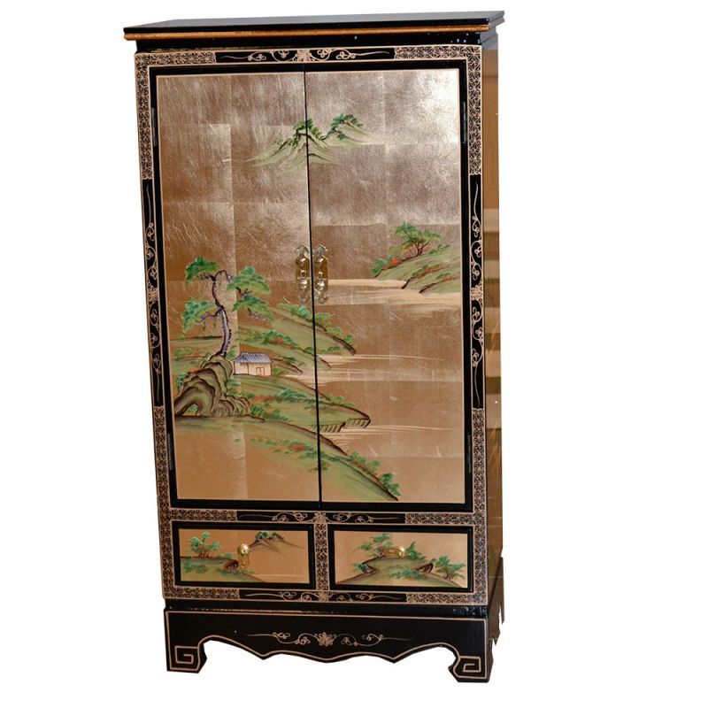 Armoire Chinoise Laque Meubles